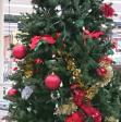 クリスマスイブの量販店駐車場警備